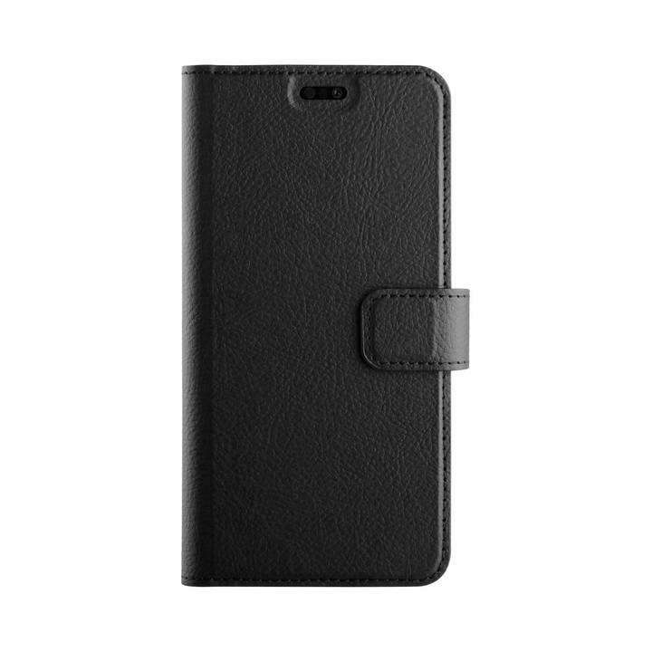 XQISIT Book Cover Slim Wallet Huawei P20 Black