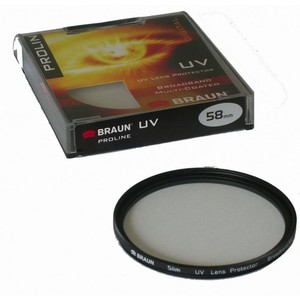 BRAUN UV-Filter Proline, 52 mm