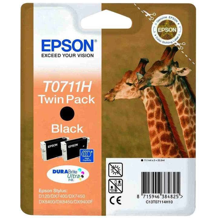 EPSON T0711 Twin Pack