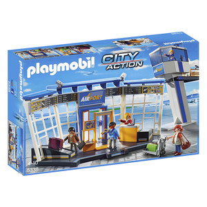 PLAYMOBIL City Action City-Flughafen mit Tower (5338)