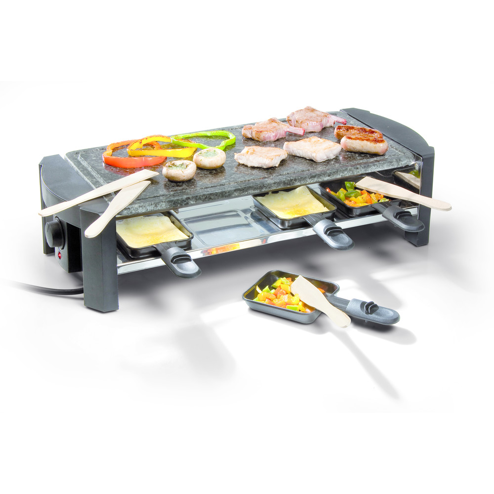 Domo Steingrill Raclette DO9039G 8 Perso
