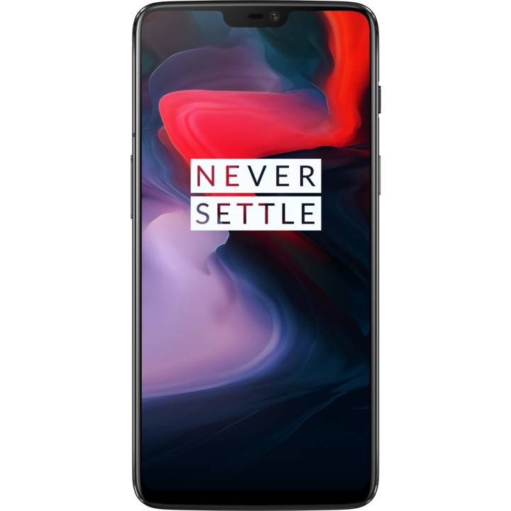 ONEPLUS 6, 128 GB, Dual-SIM, Mirror Black