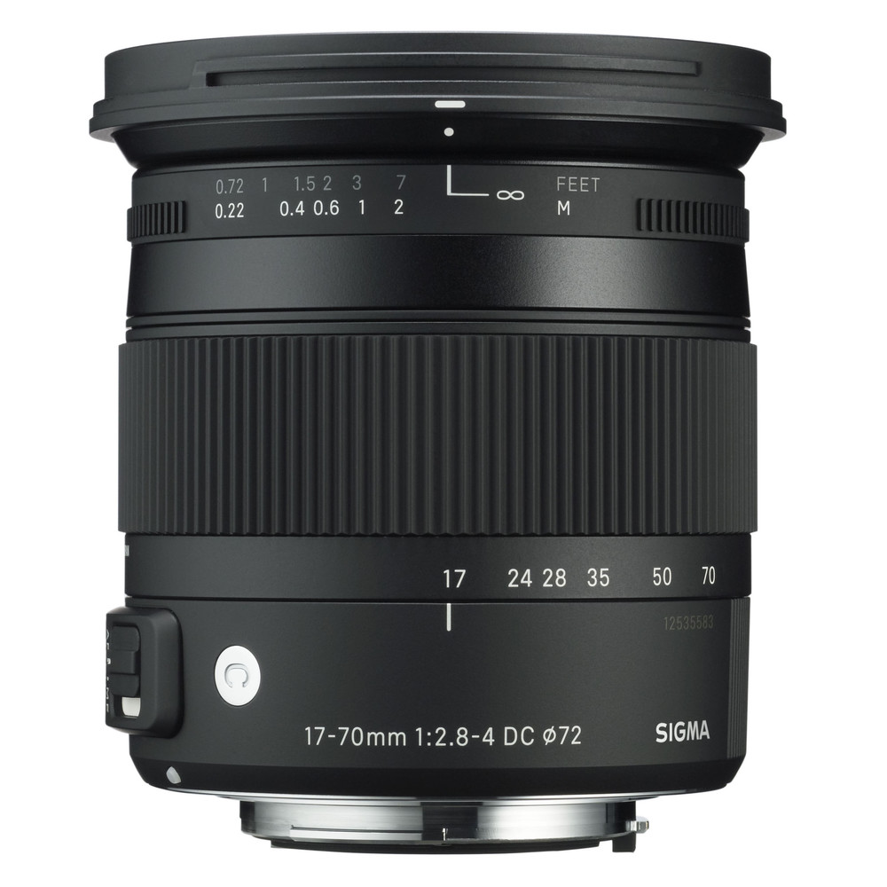 SIGMA Contemporary 17 - 70 mm f/2,8 - 4,0 DC Makro OS HSM