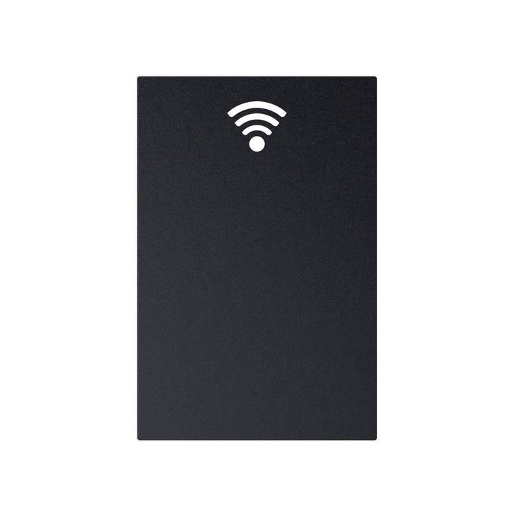 SECURIT Kreidetafel Silhouette Wifi