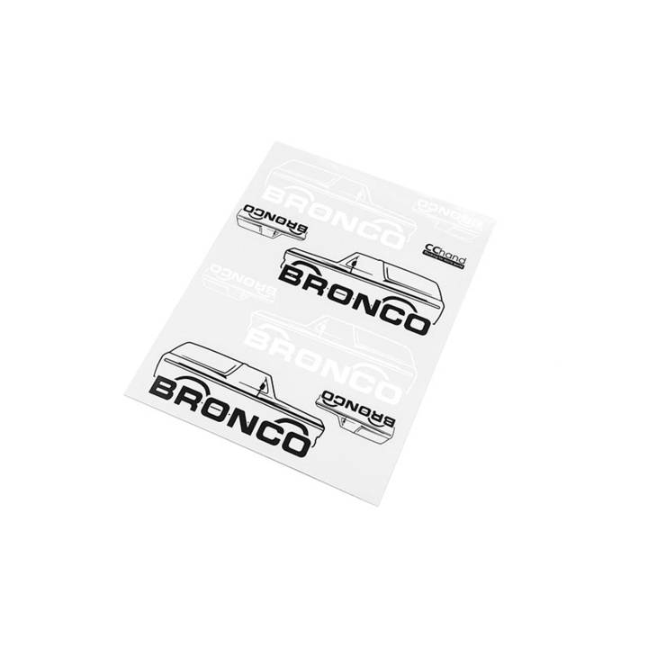 RC4WD TRX-4 Bronco Decals Style B null