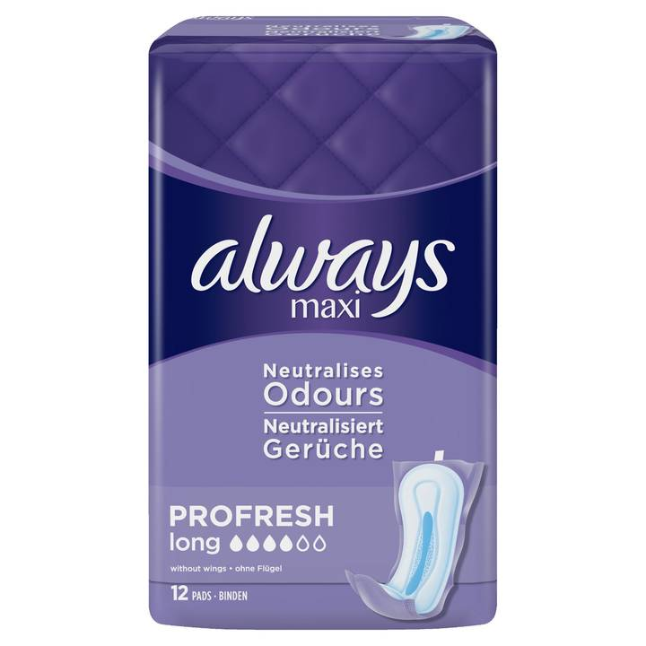 ALWAYS Binde Maxi ProFresh Long