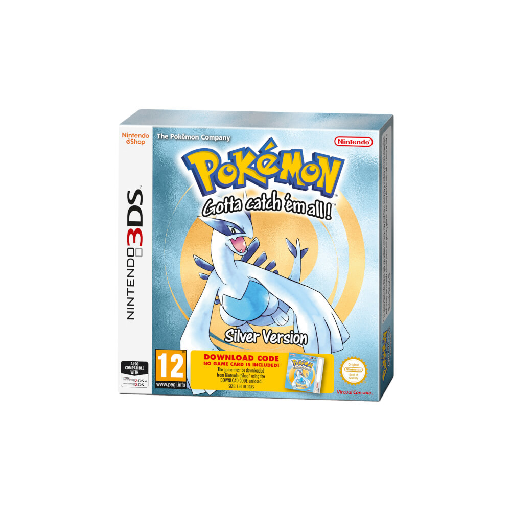 Pokemon Silberne Edition (Code in Box)