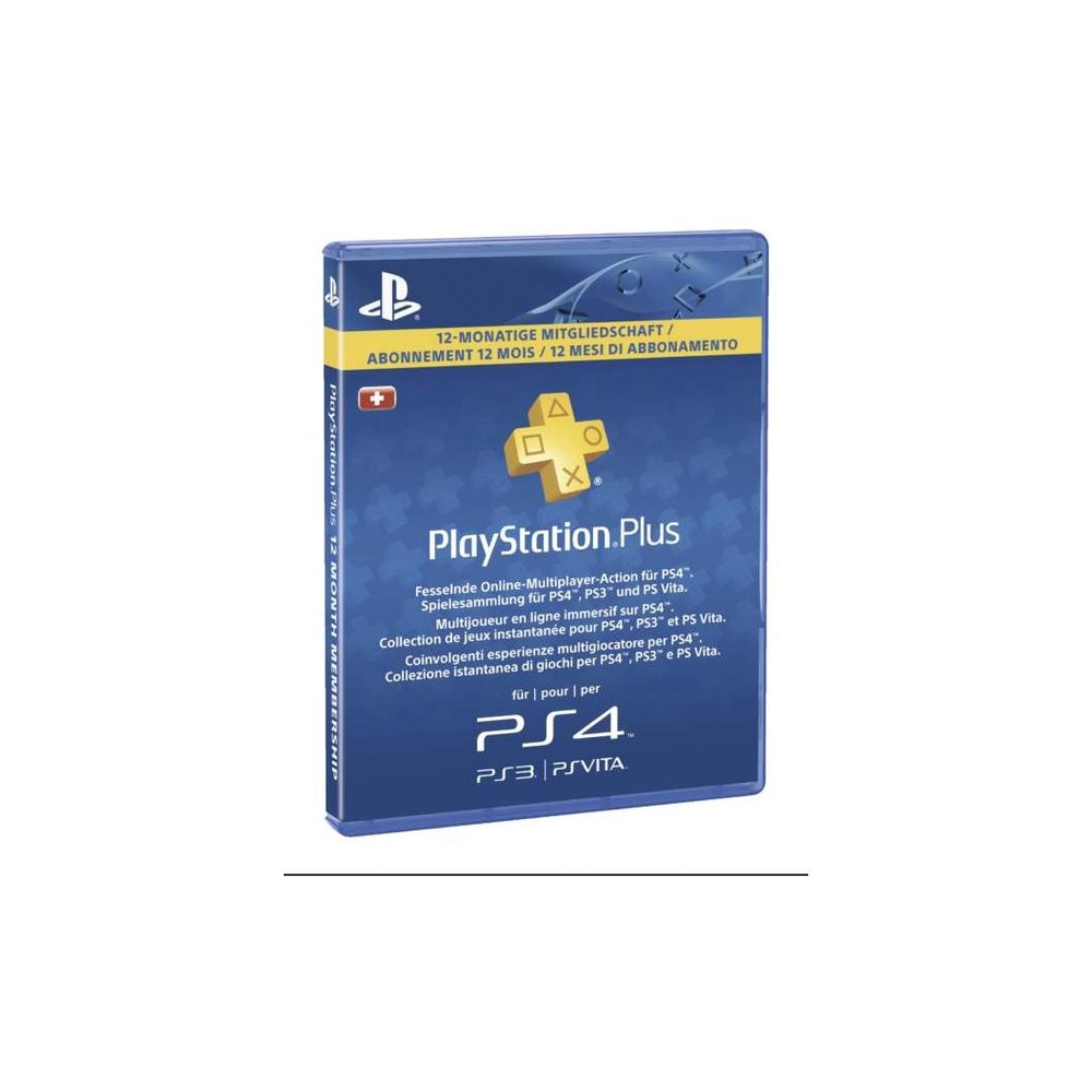 SONY PlayStation Plus Live Card 365 Tage