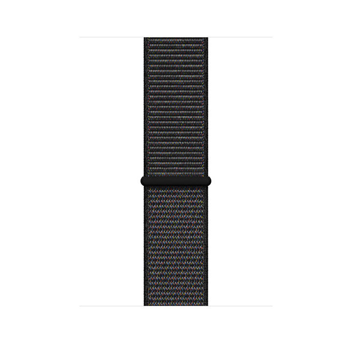 APPLE Sport Loop Uhrarmband, Schwarz