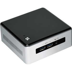 INTEL NUC Kit NUC5i3MYHE Mini-PC, i3, Silver/Black