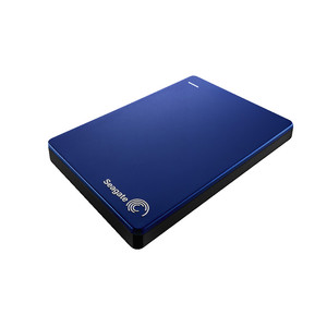 SEAGATE Backup Plus Slim, 2TB, externe Portable Festplatte Blue