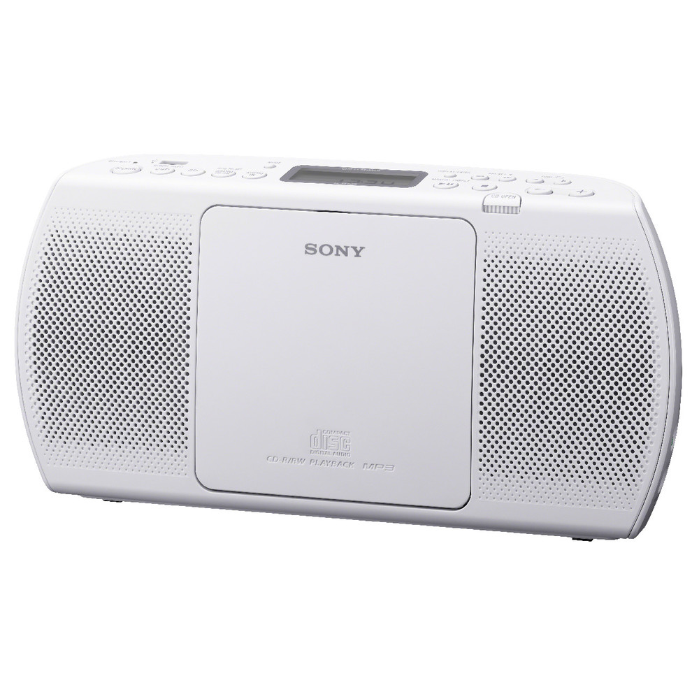 SONY Boombox ZS-PE40CP, White