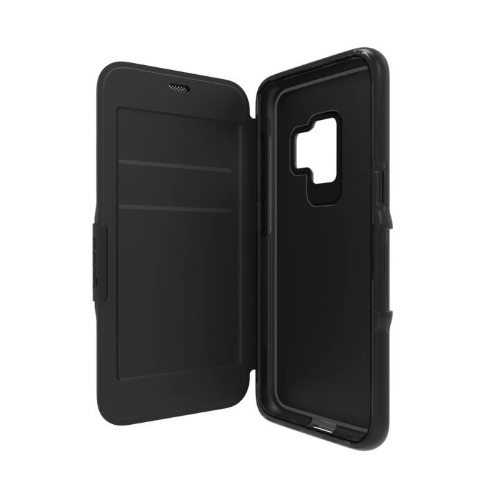 GEAR4 Bookcover für Galaxy S9 Oxford Black
