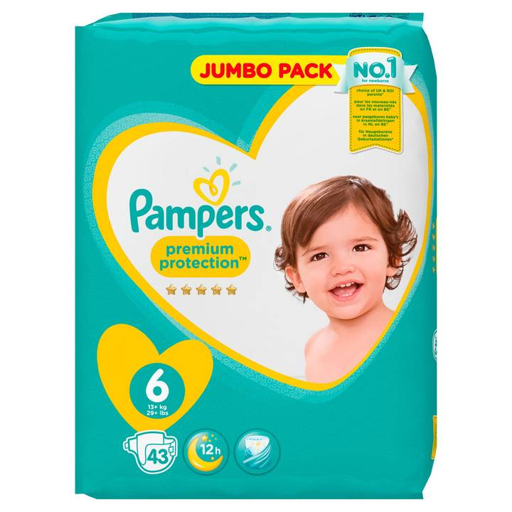 Pampers Premium Protection Gr.6 ExtraLar