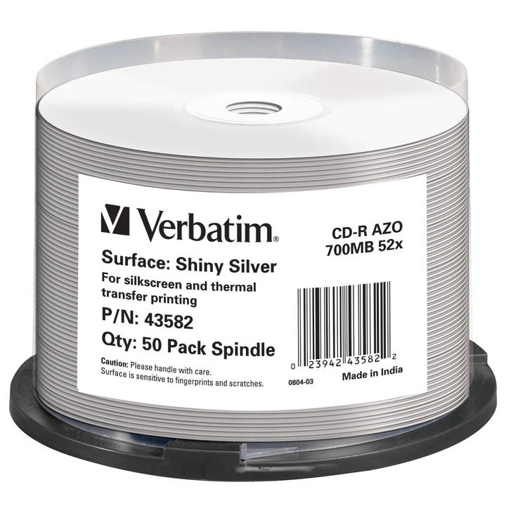 Verbatim CD-R 52x 80Min/700MB 50-Spindel