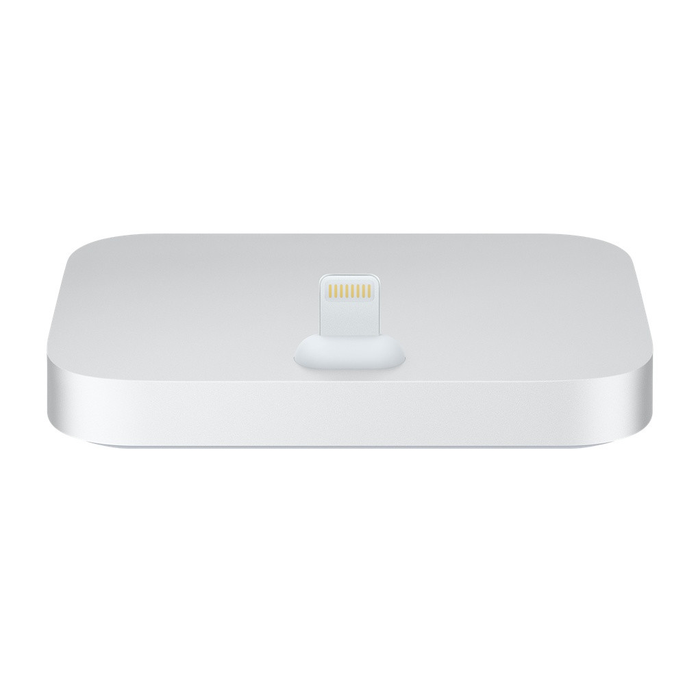 APPLE Lightning Dock für iPhone, Silver