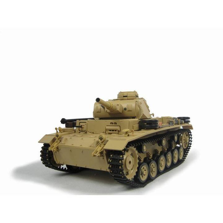 1/16 RC Panzer III Ausf. H BB Beige