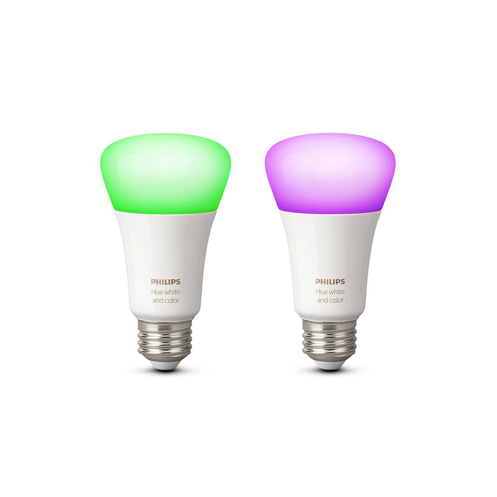 PHILIPS Hue White and Color Ambiance Doppelpack 10W E27