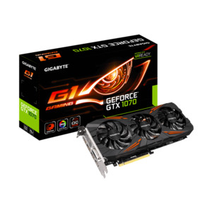 GIGABYTE GeForce GTX 1070 G1 Gaming 8 GB
