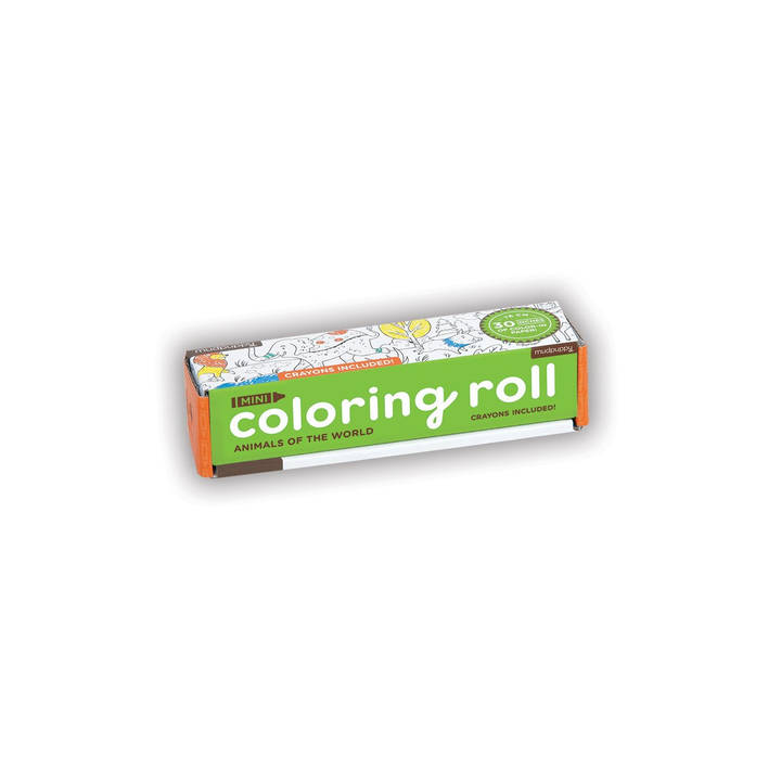Mini Coloring Roll Tiere der Welt Alter: