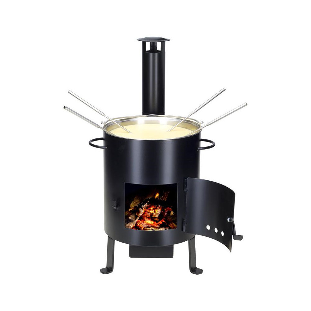 NOUVEL Outdoor Fondue & Grill-Ofen