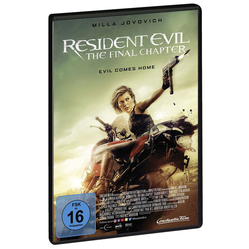 Resident Evil. The Final Chapter