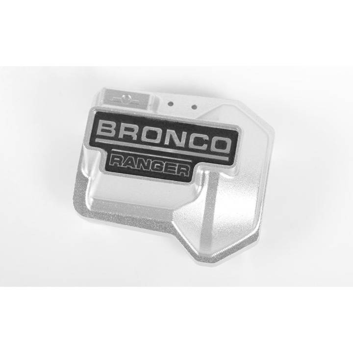 RC4WD Diff Cover TRX-4 Bronco Silber nul