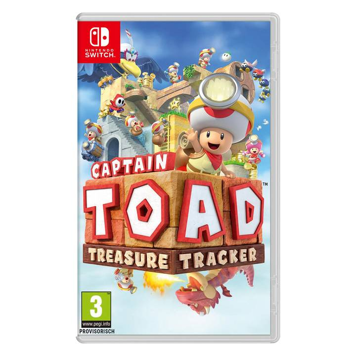 Captain Toad: Treasure Tracker, Switch A