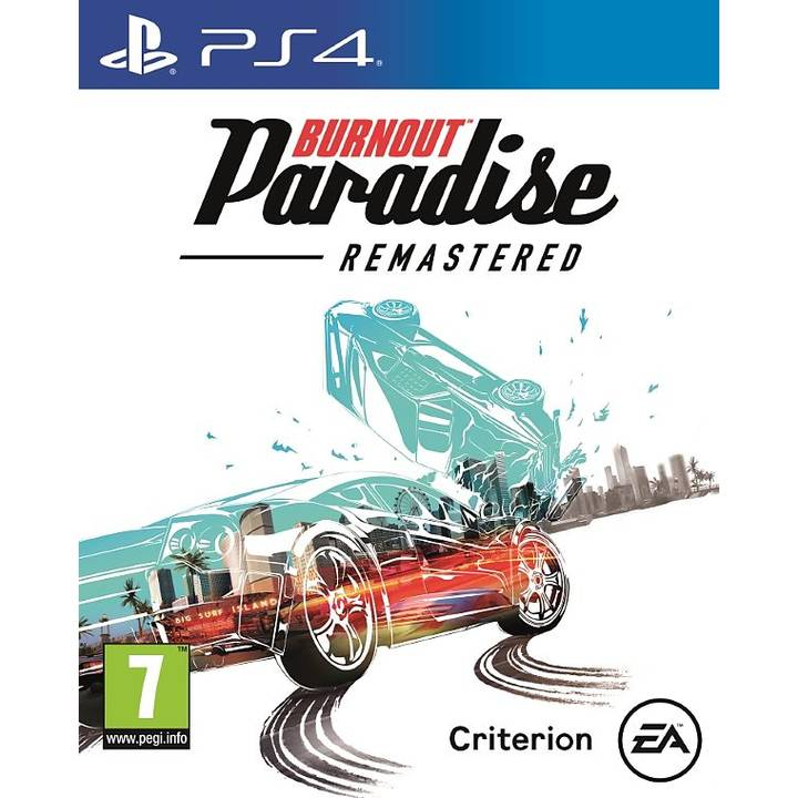 EA Burnout Paradise Remastered PS4 ML