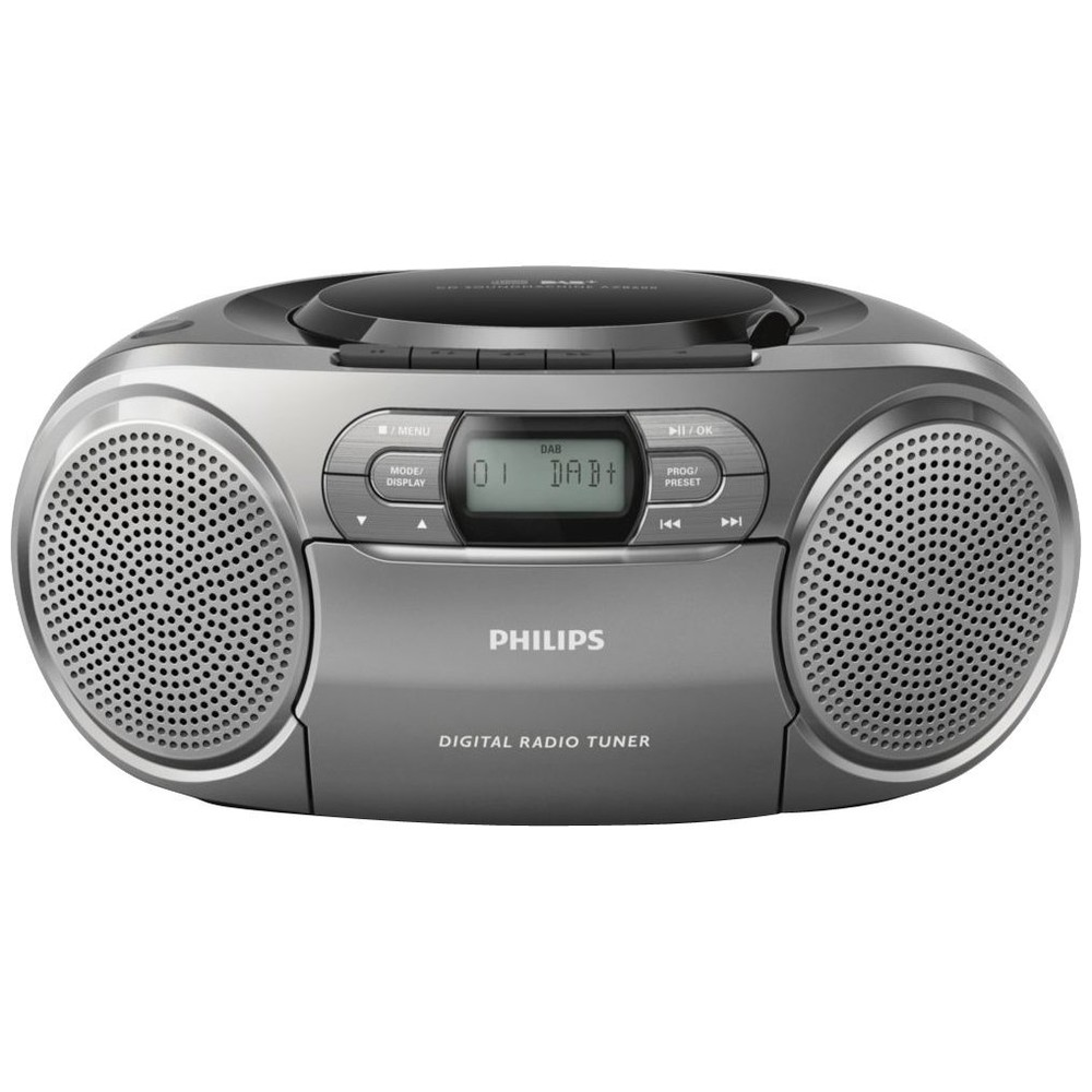 PHILIPS Boombox AZB600, Silver
