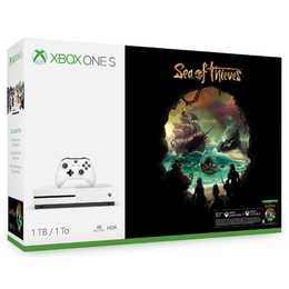 MICROSOFT XBOX One S Konsole 4K 1 TB inkl. Sea of Thieves