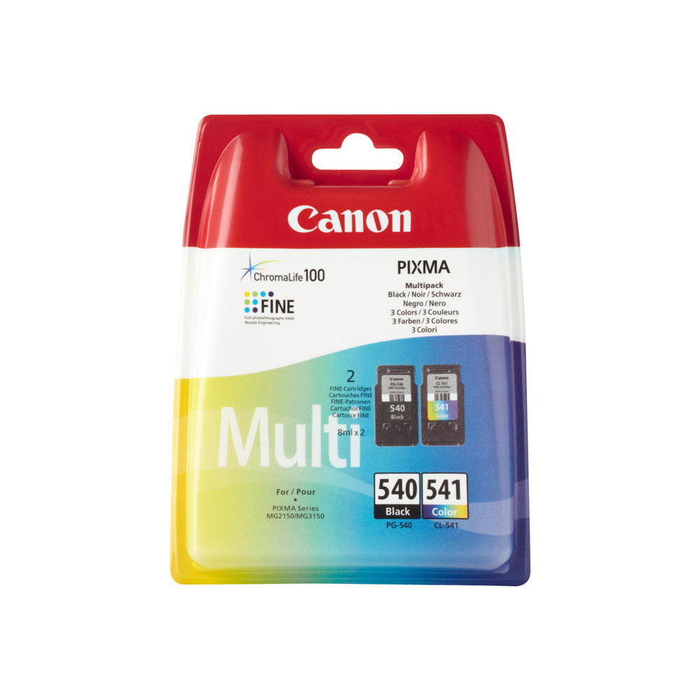 PG-540 / CL-541 multi pack, 2 ink cartri