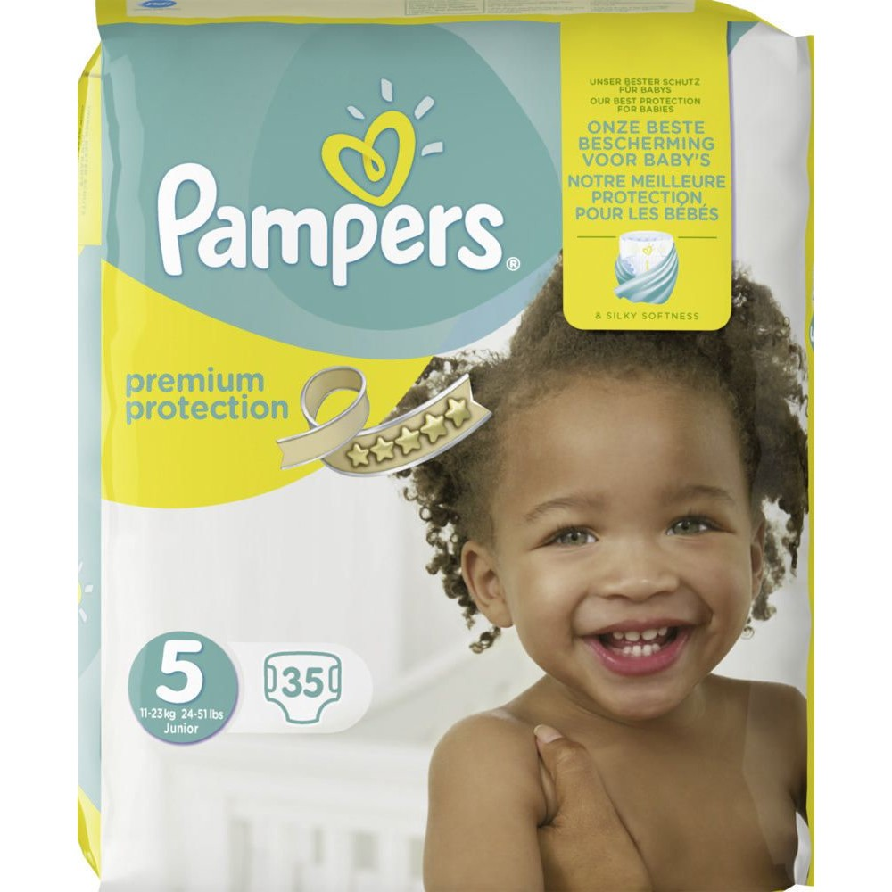 PAMPERS Windeln Premium Protection Gr. 5