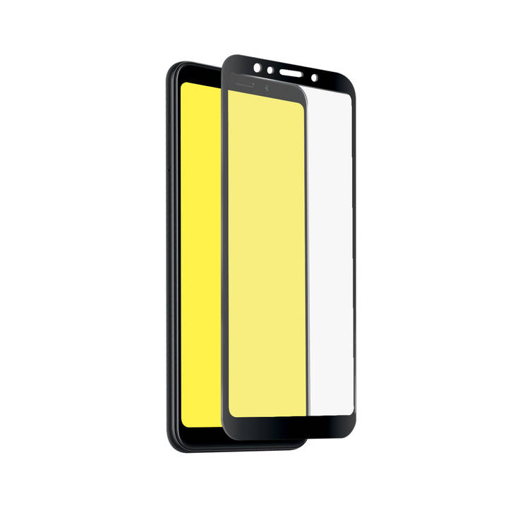 SBS Glas Displayschutz Full Cover für Redmi 5 Black