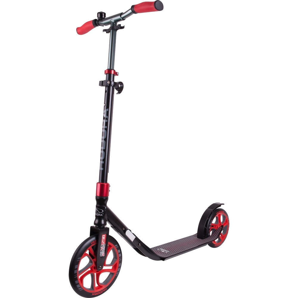 HUDORA Scooter CLVR 250 Black/Red