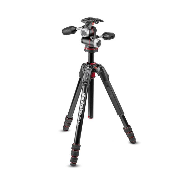 MANFROTTO 190go! Alu Kit mit XPRO 3-Wege-Neiger
