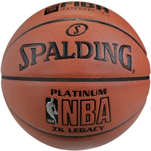 SPALDING Basketball NBA Platinum Legacy