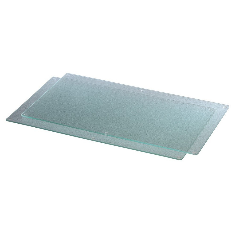XAVAX Multi Glass Cutting Board 2er