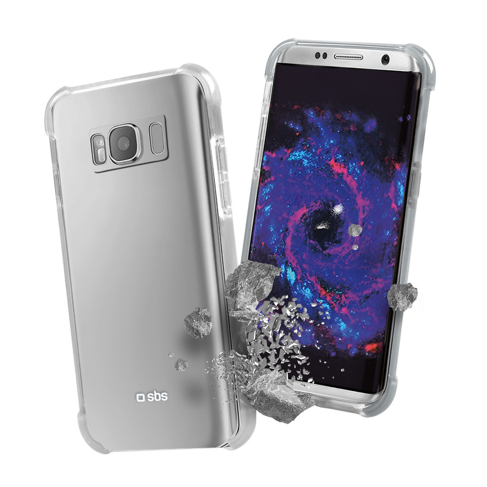 SBS Antishock Cover für Galaxy S8 Clear