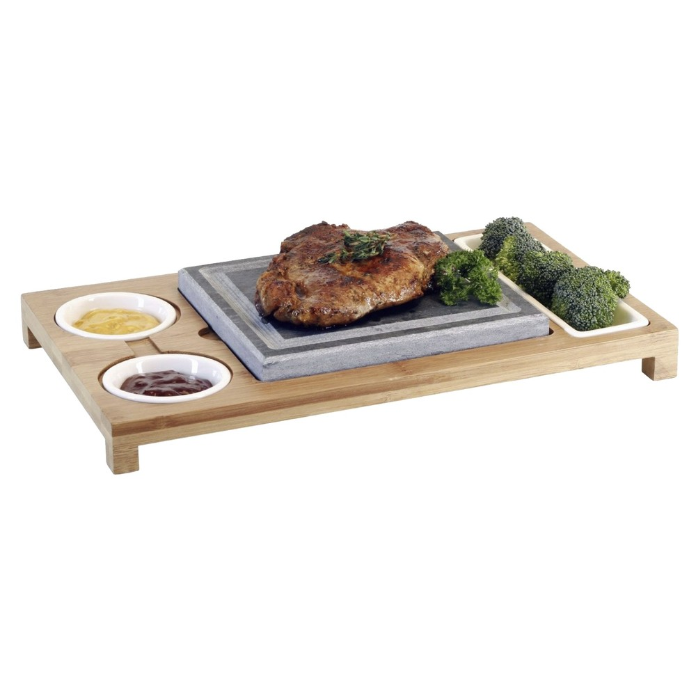 Nouvel Hot Stone Set Holz 5-teilig