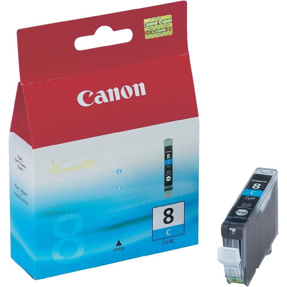 CLI-8 Cyan ink tank, 13ml, blister, for