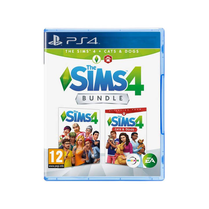 EA The Sims 4 + Cats & Dogs Bundle PS4