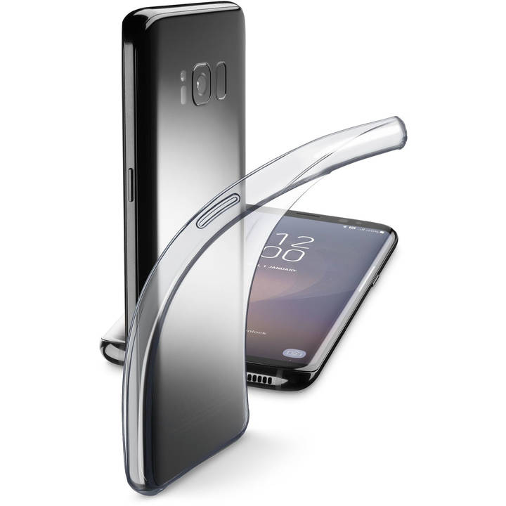 CELLULAR Fine Backcover für Galaxy S8 Clear