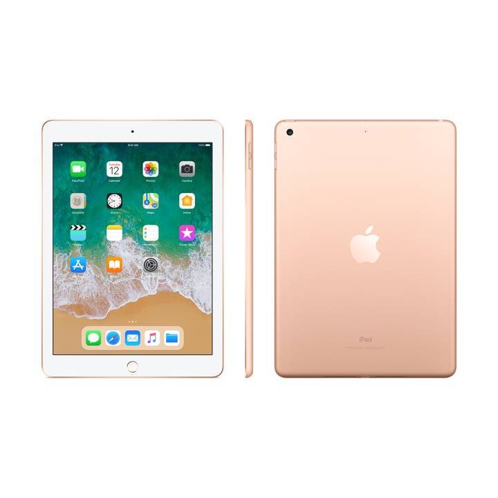 iPad WiFi 128 GB Gold