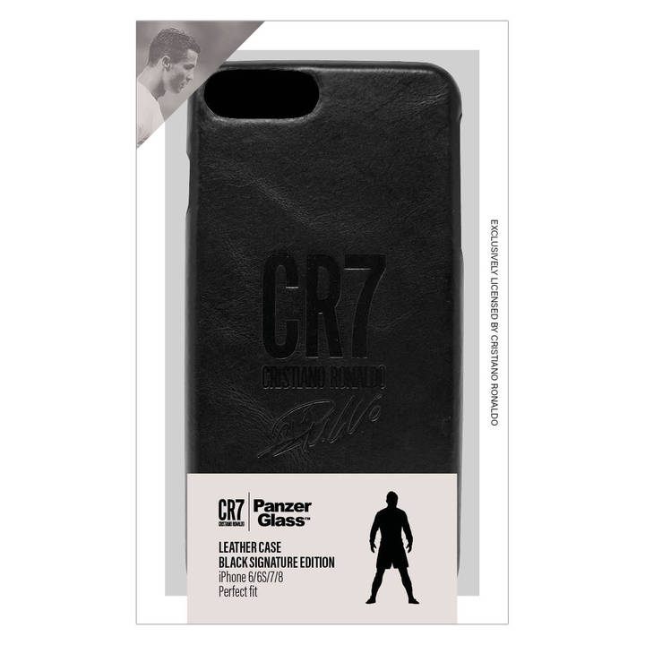 PANZERGLASS Backcover Leather CR7 für iPhone 6 / 7 / 8