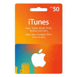 iTUNES CARD 50 NEW