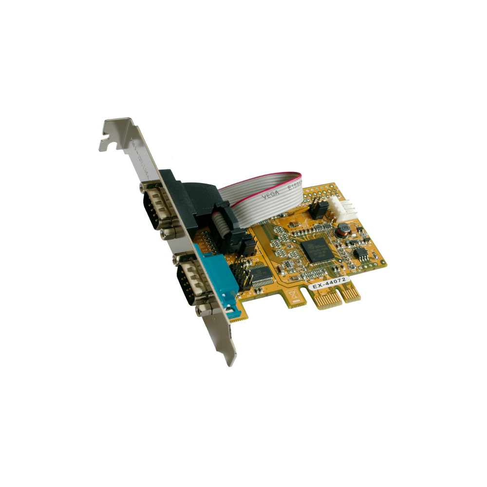 exSys EX-44072, 2xSeriell RS232 PCI-Expr
