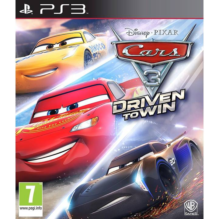 Voitures 3 - Driven to win (version DFI)