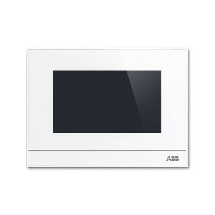 ABB free@home Touchpanel 4,3'' Raumfühler Weiss
