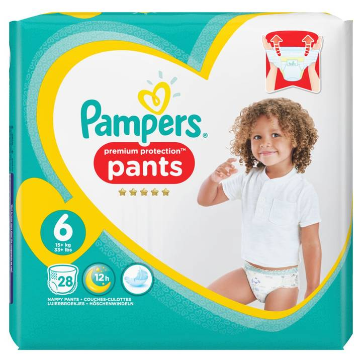 Pampers Premium Protection Pants Gr.6Ext